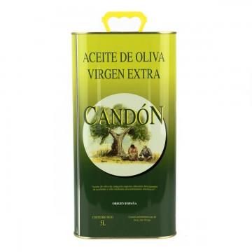 Lata de 5 litros Picual de Aceite de Oliva Virgen Extra
