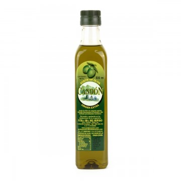 Botella Irrellenable 500 ml. PET Picual de Aceite de Oliva Virgen Extra