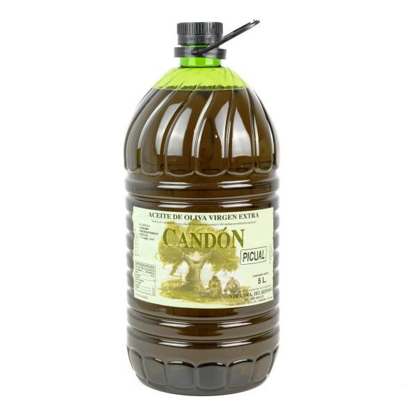 Garrafa 5 litros Picual de Aceite de Oliva Virgen Extra