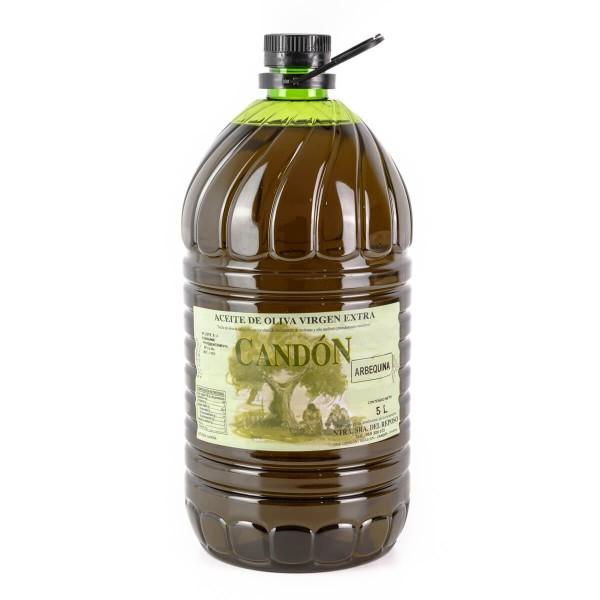 Garrafa 5 litros Arbequina de Aceite de Oliva Virgen Extra