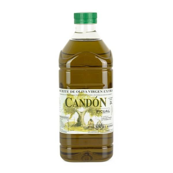 Botella 2 litros Picual de Aceite de Oliva Virgen Extra