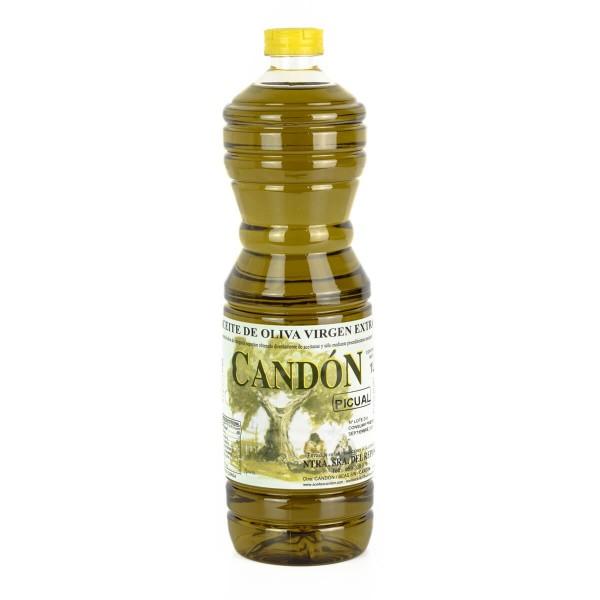 Botella 1 litro Picual de Aceite de Oliva Virgen Extra
