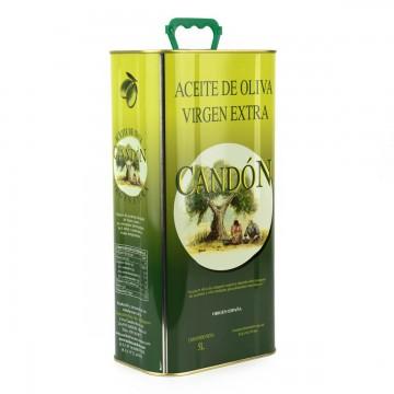 Lata de 5 litros Arbequina de Aceite de Oliva Virgen Extra