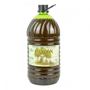 Garrafa 5 litros Verdial de Aceite de Oliva Virgen Extra