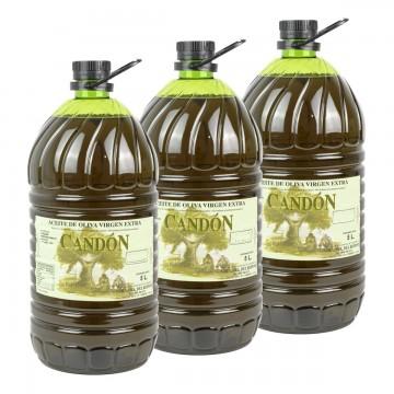 Caja 3 x Garrafa 5 litros Verdial de Aceite de Oliva Virgen Extra
