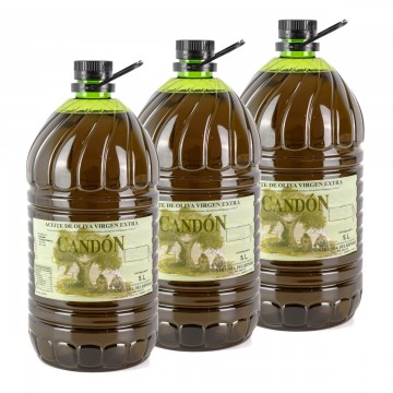 Caja 3 x Garrafa 5 litros Arbosano de Aceite de Oliva Virgen Extra