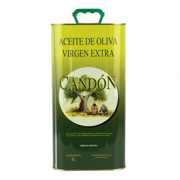 Lata de 5 litros Verdial de Aceite de Oliva Virgen Extra