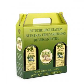 Estuche degustación de Aceite de Oliva Virgen Extra